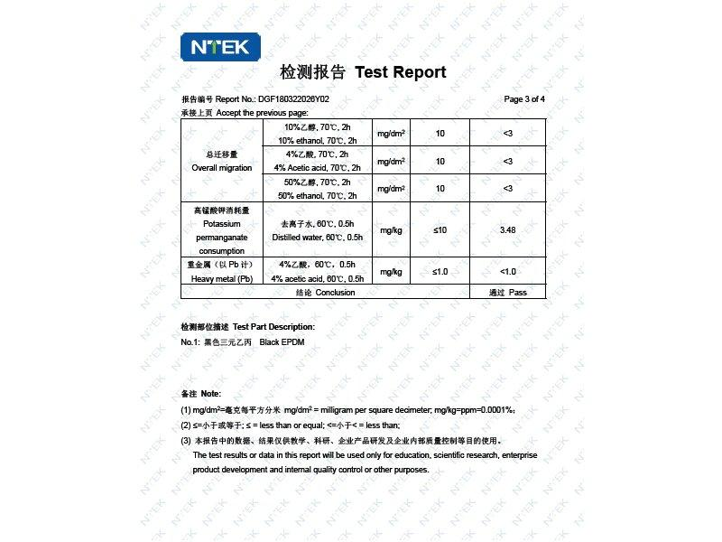 Rubber Testing Report - 3