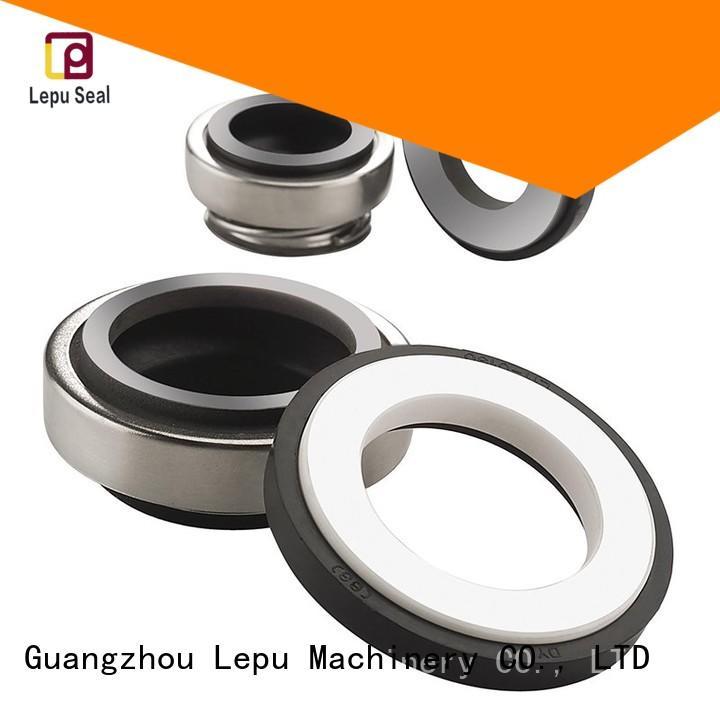 rubber bellow mechanical seal water performance Lepu Brand company