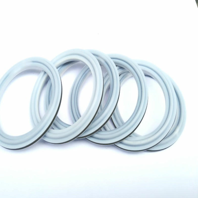 ptfe + HNBR seal ring for quick fitting clamp