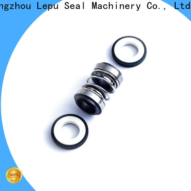 double seal & rubber bellow seal