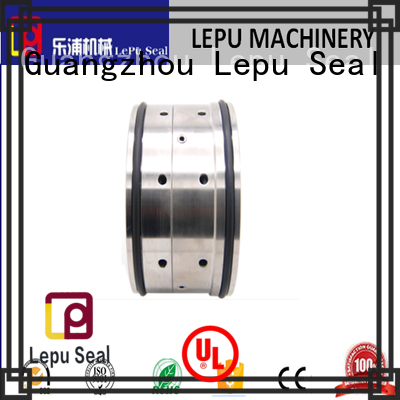 Lepu solid mesh double mechanical seal vs single mechanical seal supplier for sanitary pump